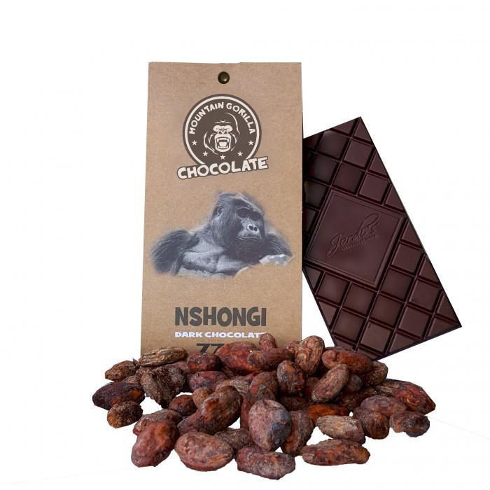 Nshongi dark chocolate 77 % 50 g
