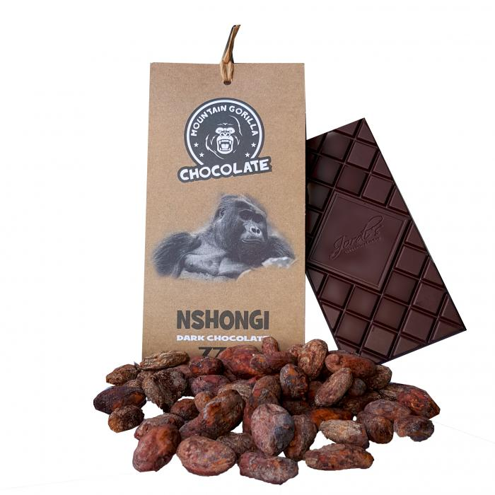 Nshongi dark chocolate 77% 50g