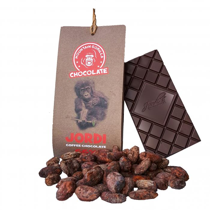 Jordi coffee chocolate 66% 50g